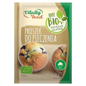 BIO proszek do pieczenia Vitally Food