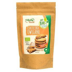 BIO Mieszanka na ciasteczka owsiane bez dodatku cukru Vitally Food