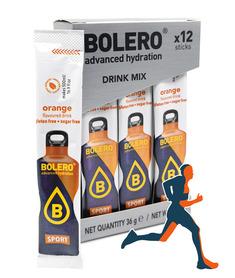 BOLERO SPORT napój ZERO cukru o smaku pomarańczowym
