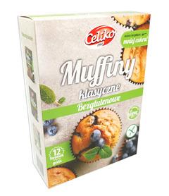Muffiny klasyczne BEZGLUTENOWE