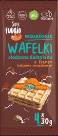 BIO Wafelki słodzone daktylami z kremem kakaowo orzechowym