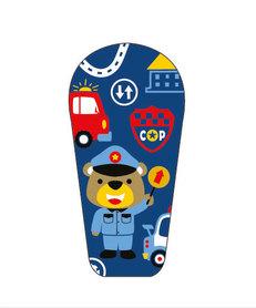 Naklejka na nadajnik Dexcom G6 Miś Policjant