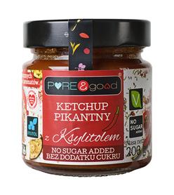 Ketchup pikantny z ksylitolem PURE&good