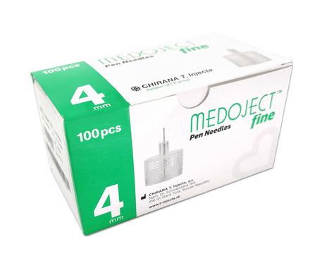 MEDOJECT FINE igły do penów 32gx4mm 0,23 100 sztuk  (1)