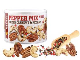 PEPPER MIX NUTS – pieczone orzechy z 4 rodzajami pieprzu