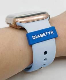 Nakładka na smartwatch dla diabetyka