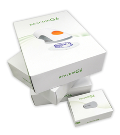 Dexcom G6 Pakiet 90 dni zaopatrzenia sensory + nadajnik