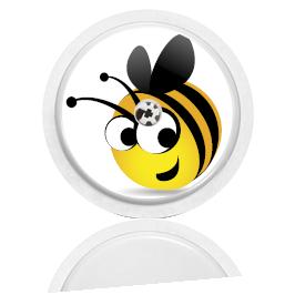 Naklejka - Pszczółka