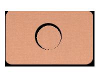 Plastry z otworem - wzór cielisty