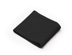 Opaska na sensor szyta na wymiar z kieszonką - czarny