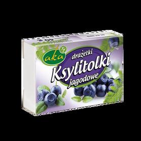 Ksylitolki - słodkie drażetki jagodowe bez cukru