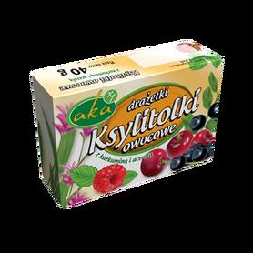 Ksylitolki - słodkie drażetki owocowe bez cukru