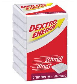 DEXTRO Energy glukoza żurawina