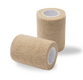 Bandaż adhezyjny cielisty / rolka szer. 7,5 cm