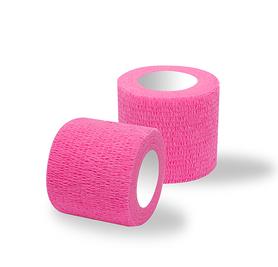 Bandaż adhezyjny różowy / rolka szer. 5 cm