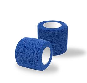 Bandaż adhezyjny niebieski / rolka szer. 5 cm