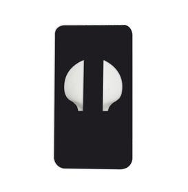 ENLITE - ozdobny plaster zabezpieczający, kolor czarny