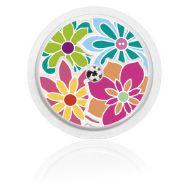 Naklejka - Kwiaty mix