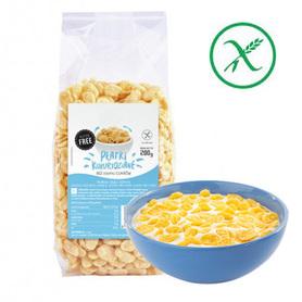 Płatki kukurydziane bez dodatku cukru, bezglutenowe