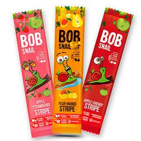Sticki owocowe Bob Snail 3 smaki