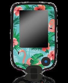 Naklejka na czytnik Freestyle Libre Flamingi 2