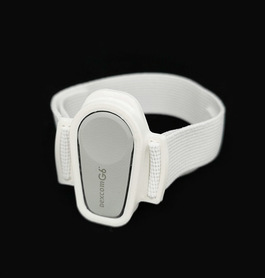 DEXCOM G6 opaska zabezpieczająca z elastyczną ramką Biała