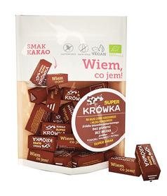BIO krówki bezmleczne kakaowe Super Krówka bezglutenowe
