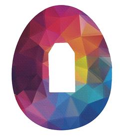 Dexcom G4, G5, G6 plastry ochronne Abstrakcja