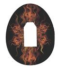Dexcom G5 plastry ochronne Ogień (1)