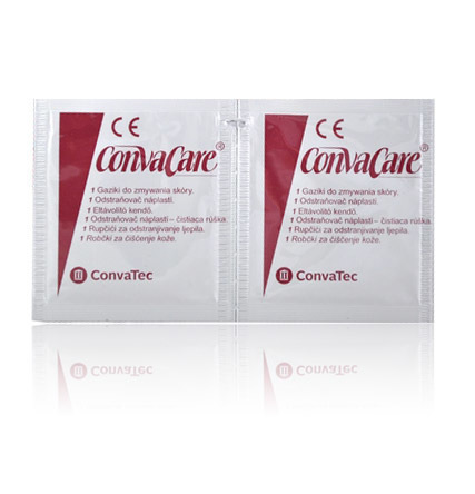 Chusteczki do zmywania kleju ConvaCare remove 10 szt. (1)