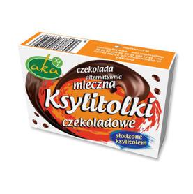 Ksylitolki czekoladowe drażetki bez dodatku cukru