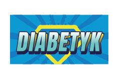 Diabetyk tatuaż tymczasowy Symbol