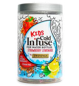 Naturalna Owocowa Herbata na Zimno Lemoniada Truskawkowa KIDS