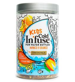 Naturalna Owocowa Herbata na Zimno Mango i Pomarańcza