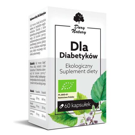 Suplement diety dla diabetyków 60 kapsułek (1)