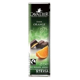 Baton Cavalier mleczna czekolada z nadzieniem pomarańczowym