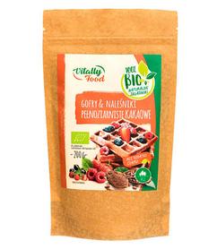 BIO Mieszanka na gofry i naleśniki kakaowe pełnoziarniste bez dodatku cukru