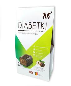 Cukierki czekoladowe z niskim indeksem glikemicznym