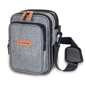 Izotermiczna torba na ramię dla diabetyka szara
