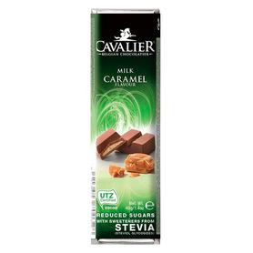 Baton Cavalier mleczna czekolada z nadzieniem karmelowym