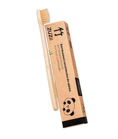 Szczoteczka z naturalnego bambusa. Całkowicie biodegradowalna