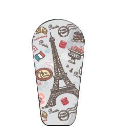 Naklejka na nadajnik Dexcom G6 Paryż