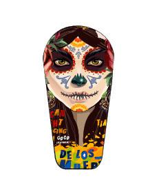 Naklejka na nadajnik Dexcom G6 Mexico