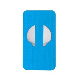 ENLITE - ozdobny plaster zabezpieczający niebieski