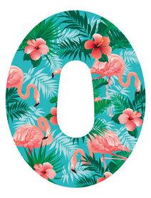 Dexcom G6 plastry ochronne Flamingi