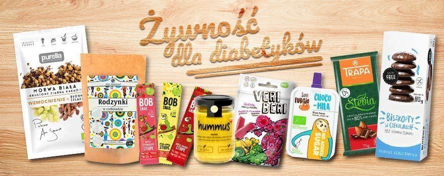 Naturalne produkty spożywcze najwyższej jakości dla diabetyków